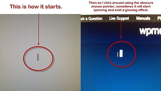 how to change what yourr mouse looks like